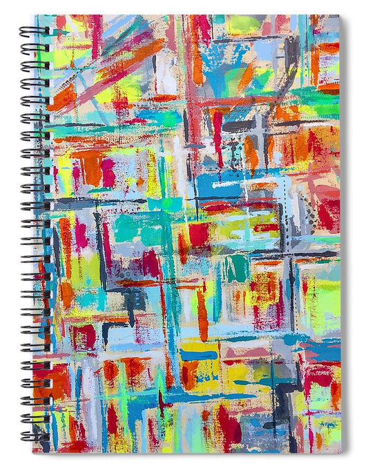Time To Pray - Spiral Notebook