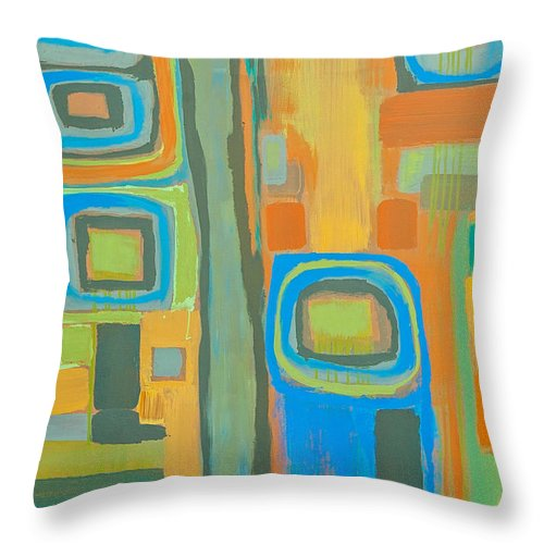 Tuesday Afternoon - Throw Pillow
