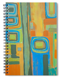 Tuesday Afternoon - Spiral Notebook