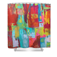 Working Girl - Shower Curtain