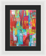 Working Girl - Framed Print