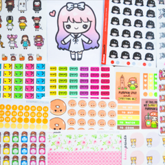 First online shopping experience: KeenaPrints stickers at Shopee