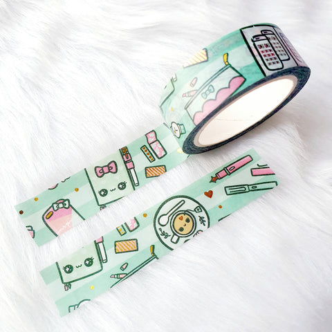 PASTEL PRINCESS FELT BOOKMARK - BM073