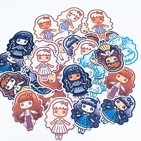 NAUTICAL LOLITA STICKER PACK - MR068
