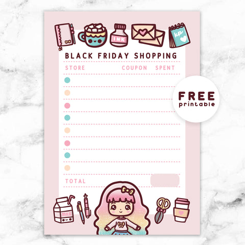 ANIMAL CROSSING DAILY CHECKLIST PLANNER FREE PRINTABLE - POCKET RINGS