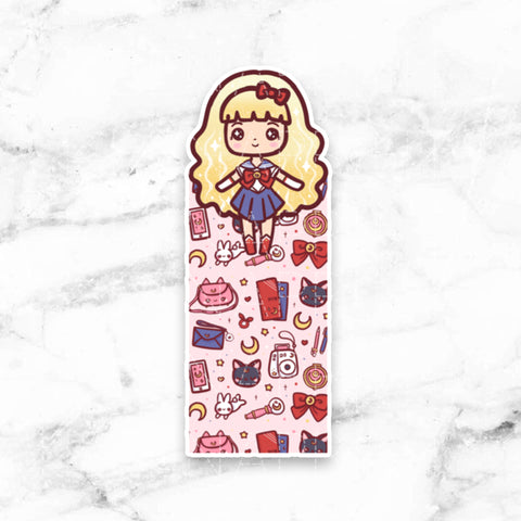 SUNSHINE LOLITA DECO CLEAR STICKERS - Z104