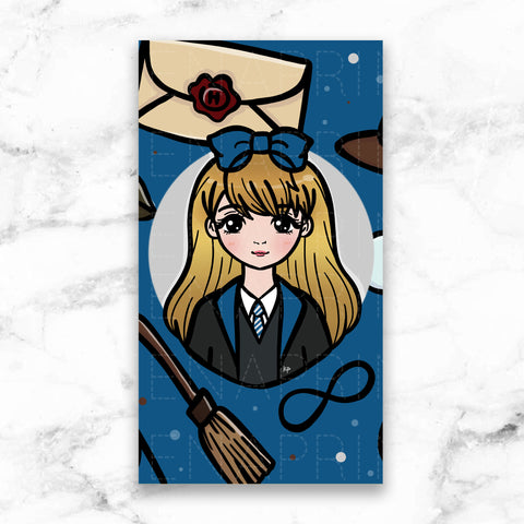[DISCONTINUED] BLUE WIZARD WONDERLAND FRIDGE MAGNET - MR020