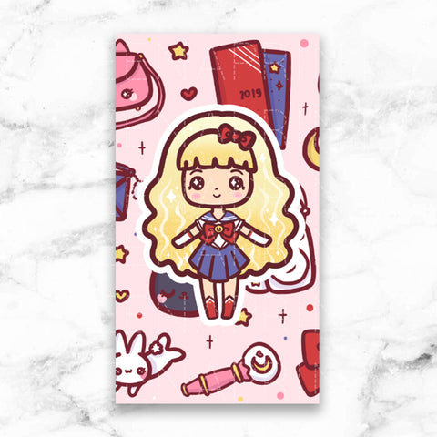 GOTHIC LOLITA STICKER ALBUM - SA014