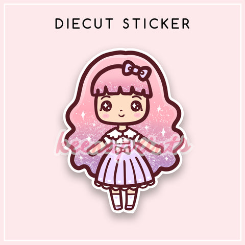 TEEN LOLA DIECUT STICKER - DC028