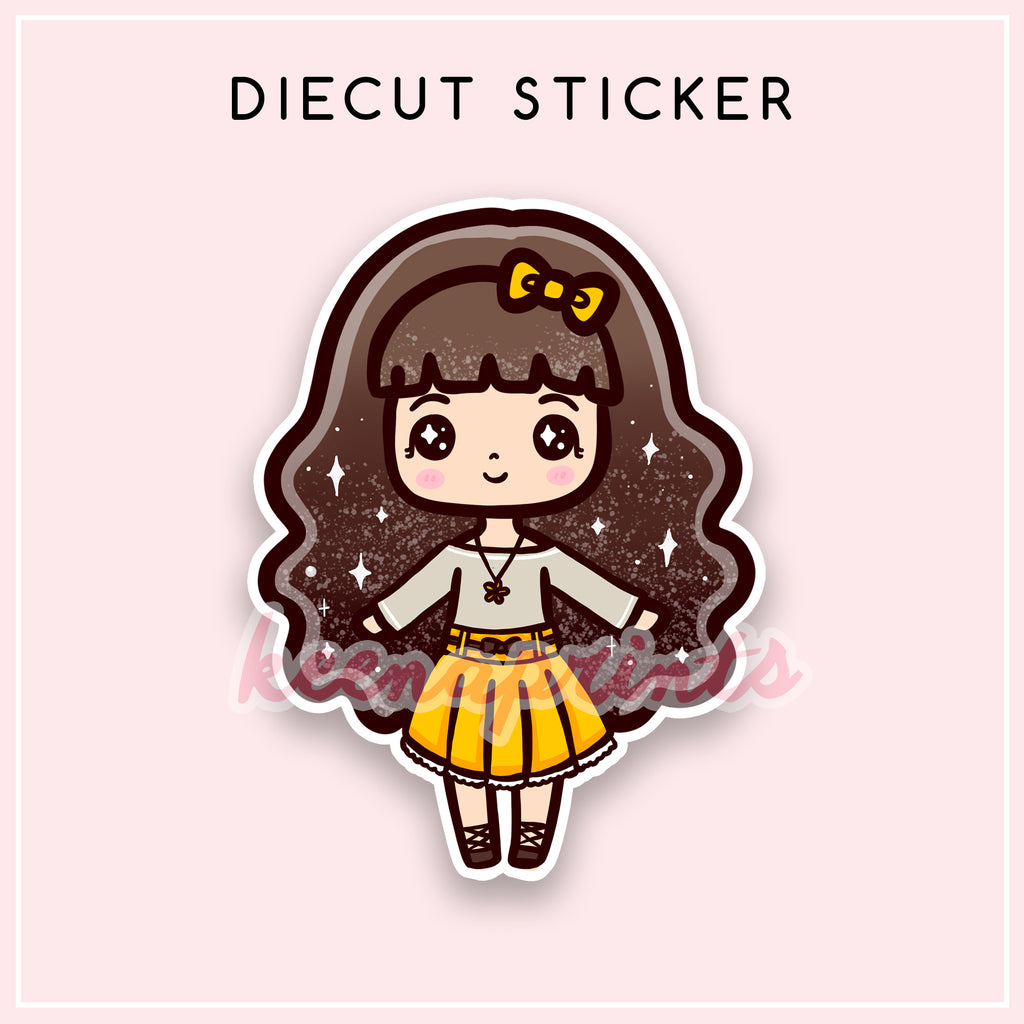 SUNSHINE LOLITA DIECUT STICKER - DC053