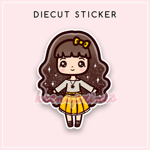 CHIC LOLITA DIECUT STICKER - DC026