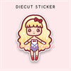KAWAII DREAMS LOLITA OHLALA DIECUT STICKER - DC056