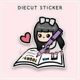 JOURNAL LOLA DIECUT STICKER - DC067