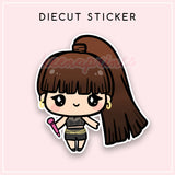 BLACKPINK LISA COACHELLA DIECUT STICKER - DC086