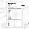 LONG TERM SAVINGS TRACKER PLANNER FREE PRINTABLE