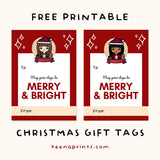 KEENAMI COZY HOLIDAY GIFT TAG FREE PRINTABLE