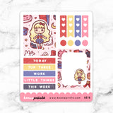 KAWAII DREAMS LOLITA FULL BOX STICKERS - K076