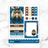 BLUE WIZARD WONDERLAND FULL BOX STICKERS - K078