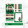 GREEN WIZARD WONDERLAND FULL BOX STICKERS - K079