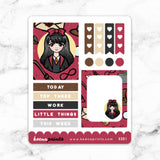 RED WIZARD WONDERLAND FULL BOX STICKERS - K081