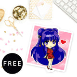LUNAR NEW YEAR CHIBI FREE PRINTABLE