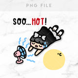 SO HOT LOLA PRINTABLE CLIP ART - L126