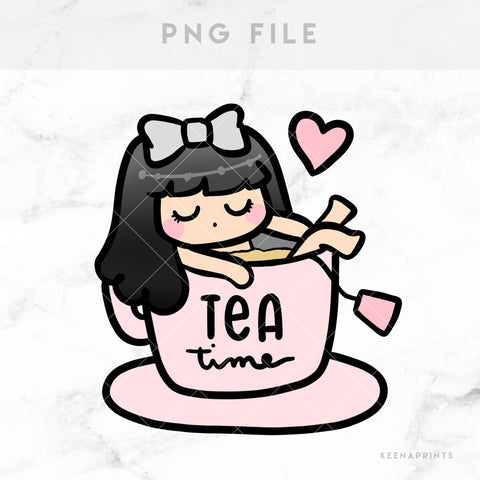 WORK LATE LOLA PRINTABLE CLIP ART - L159