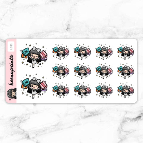 KAWAII DREAMS LOLITA STICKER PACK - MR053