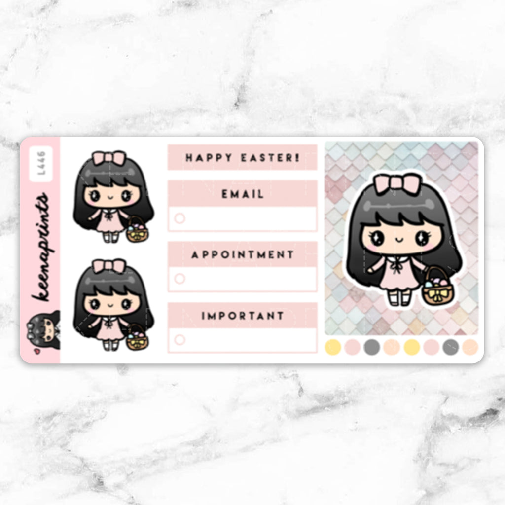 EASTER FULLBOX STICKERS LOLA - L446
