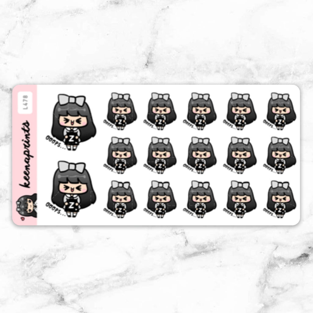 ZALORA SHOPPING STICKERS LOLA - L478