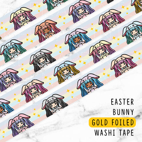 CANDY LOLITA GOLD FOILED WASHI TAPE - WT001