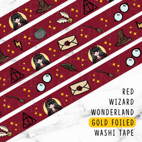 [EXCLUSIVE] COZY HOLIDAY ROSEGOLD FOILED WASHI TAPE - WT011