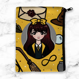 YELLOW WIZARD WONDERLAND POUCH - MR035