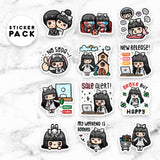LOLA STICKER PACK 3 - MR058