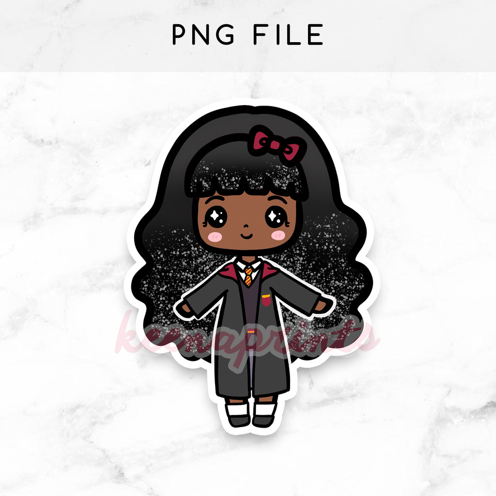 RED WIZARD WONDERLAND KEENAMI LOLITA CHIBI PRINTABLE CLIP ART