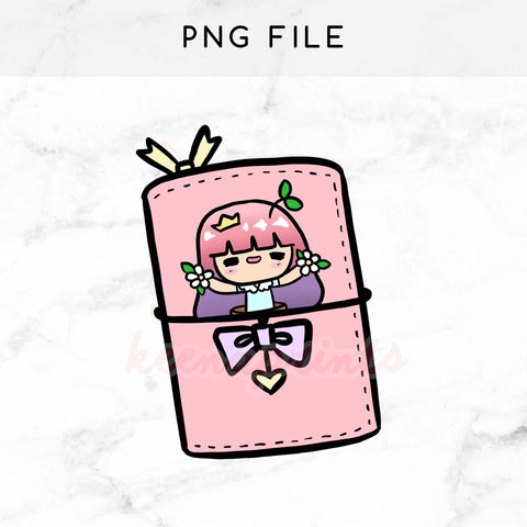LILY PRE-MADE CHIBI PRINTABLE CLIP ART