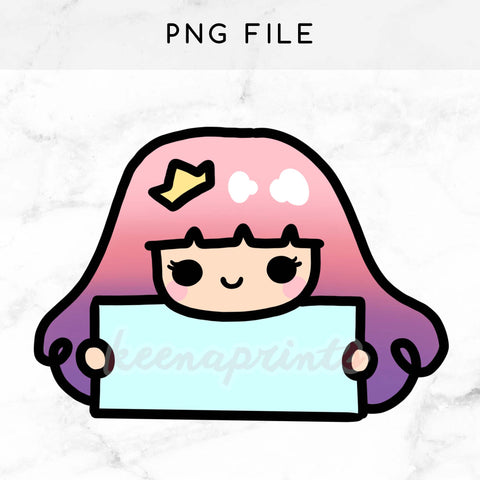 MOTIVATION PRINCESS PRINTABLE DIGITAL STAMP