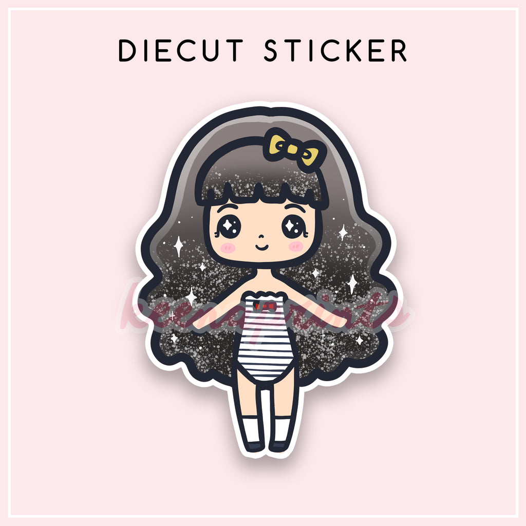 NAUTICAL LOLITA OHLALA DIECUT STICKER - DC044