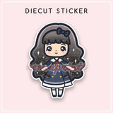 NAUTICAL LOLITA DIECUT STICKER - DC045