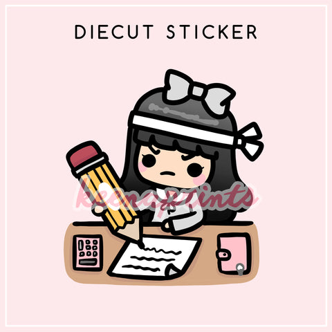 BROKE STICKERS LILY - L004