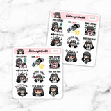 SAMPLER STICKERS LOLA - S015