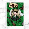 GREEN WIZARD WONDERLAND STICKER ALBUM - SA012