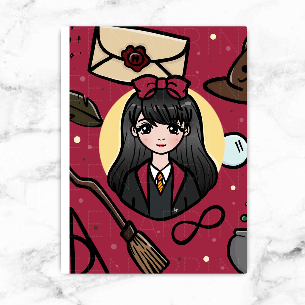 RED WIZARD WONDERLAND STICKER ALBUM - SA013