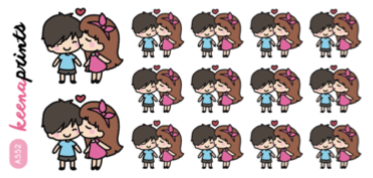 LEAVE ME ALONE STICKERS LOLA - L149