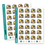 EMOJI 2 STICKERS KEENARI Z056 - SET OF 32 - KeenaPrints planner stickers bullet journal diary sticker emoji stationery kawaii cute creative planner