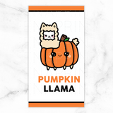 PUMPKINLLAMA LAMINATED DASHBOARD [PERSONAL RINGS] -DB007 - KeenaPrints planner stickers bullet journal diary sticker emoji stationery kawaii cute creative planner