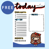 FOURTH OF JULY PLANNER FREE PRINTABLE [A5 SIZE] - KeenaPrints planner stickers bullet journal diary sticker emoji stationery kawaii cute creative planner