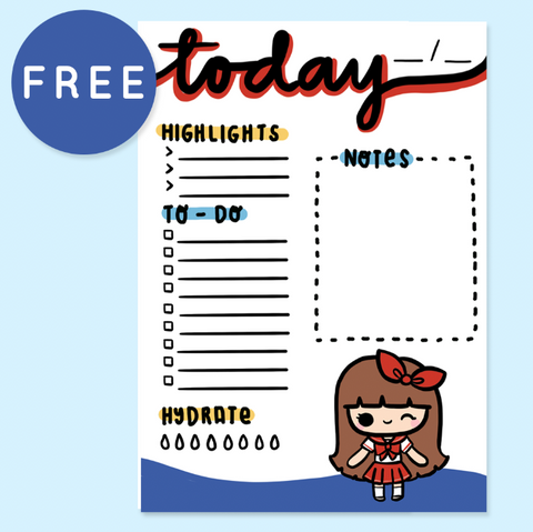 WEDNESDAY POSTCARD PRINTABLE
