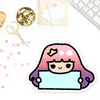 PASTEL PRINCESS PRE-MADE CHIBI PRINTABLE CLIP ART - KeenaPrints planner stickers bullet journal diary sticker emoji stationery kawaii cute creative planner