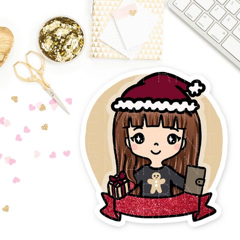 COZY HOLIDAY PLANNER KEENARI PRE-MADE CHIBI PRINTABLE CLIP ART